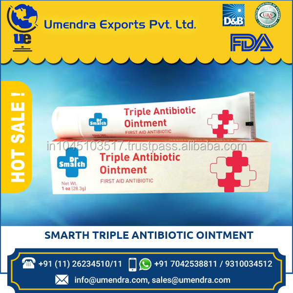 High Grade New Good Smarth Triple Antibiotic Ointment for Sale