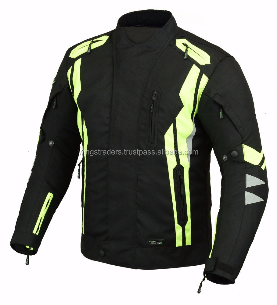 Classical Design Motorcycle Reflective Safety Jacket New Arrival Cordura Jacket 1