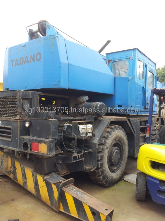 used japan tadano rough terrain crane used tadano rough terrain crane used tadano RT crane 25ton in china