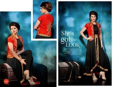 Designer party wear heavy pakistani style suits