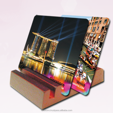 best selling high quanlity wholesale custom square blank sublimation cork coaster