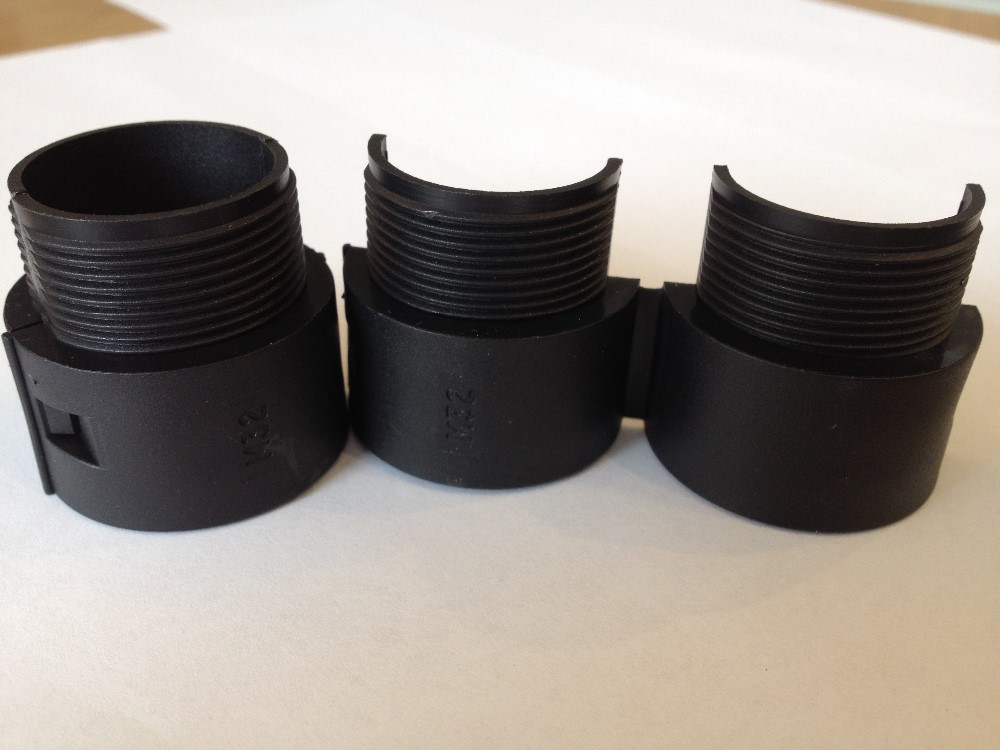 Davico/Eurolok 32mm DPPC type Polypropylene conduit fittings