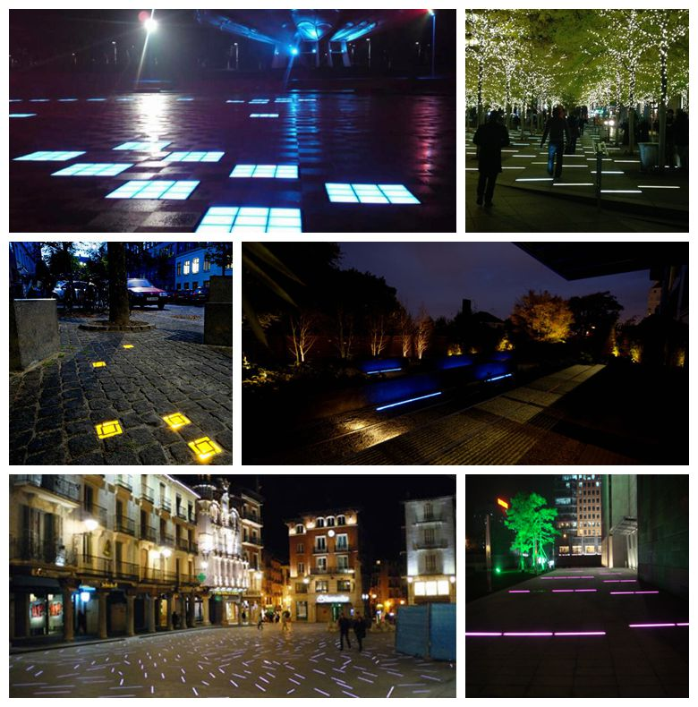 Offer RGB 300*300 battery solar led floor light led paver light taiwan online shopping