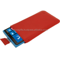 Custom Logo PU Leather Flip Mobile Case