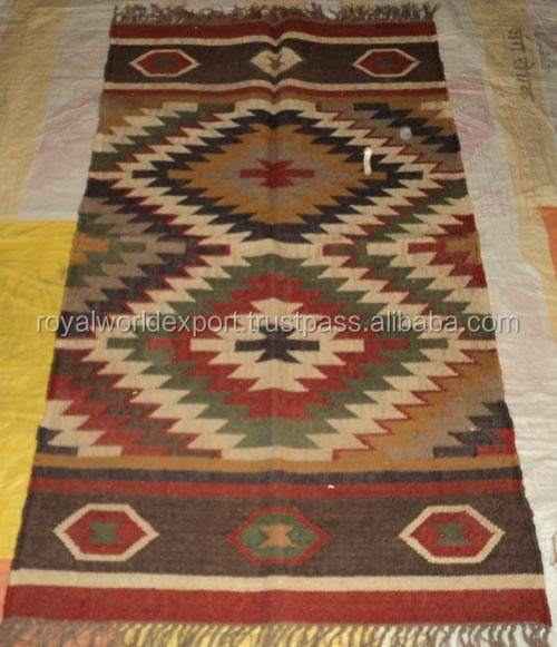 High Grade Promotion Wholesale Popular Top Quality Eco-friendly Handmade Natural 100% Cotton Kilim Rug/Muslim Prayer Carpets
