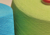 Regenerated OE Cotton Polyester Yarn Ne 24/1