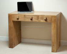 Mango wood office desk / antique wooden furniture