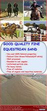 Silica Sand for sports, landscaping and equestrian surfaces