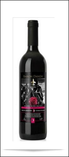 Baron Dandy Semi Sweet Red Wine