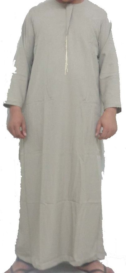 Classic Muslim Men's Thobe on Sales Promotion-Mens arabian thobe