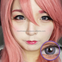 ColourVUE Fusion Grey Violet, Mix of Beautiful Colours Circle Contact Lenses