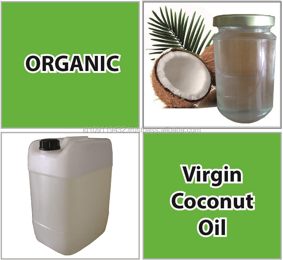 ORGANIC VIRGIN COCONUT OIL (VCO)