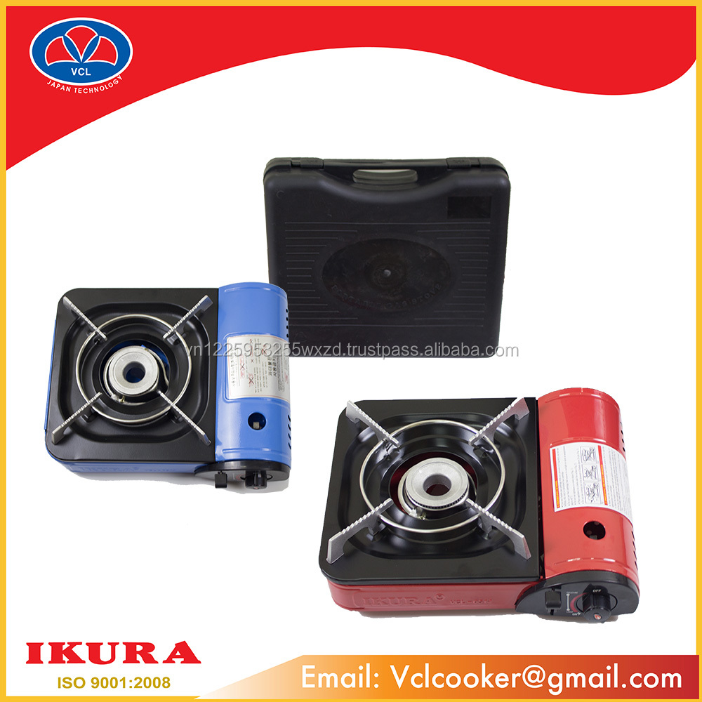 SINGLE BURNER GAS STOVE HOT PRICE - ISO:9001-2008 IKURA 0514 COLOR