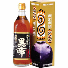 Japanese organic Gold black vinegar for food import product