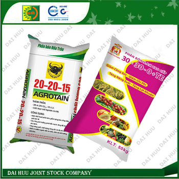 Colorful Laminated PP Woven Bag for Fertilizer