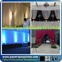 Event display pipe drape support | shopping mall photo booth