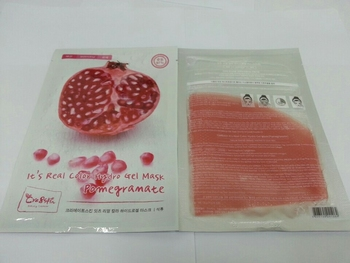 "[Cre8skin] It's Real Color Hydro Gel Mask ""Pomegranate"""
