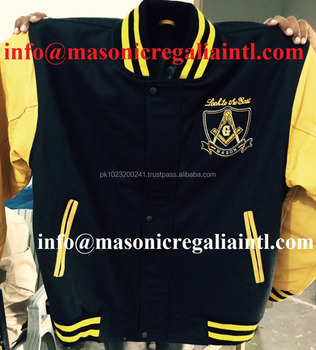 Masonic Jackets | High quality Wool and selvees Leather