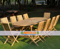 Teak Patio Furniture Set - Garden Furniture Sets