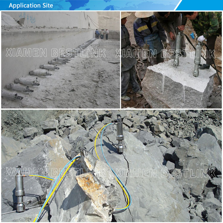 Factory Made Darda Rock Splitter Manufacturer