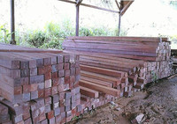 hardwood sawn timber (ulin,meranti)