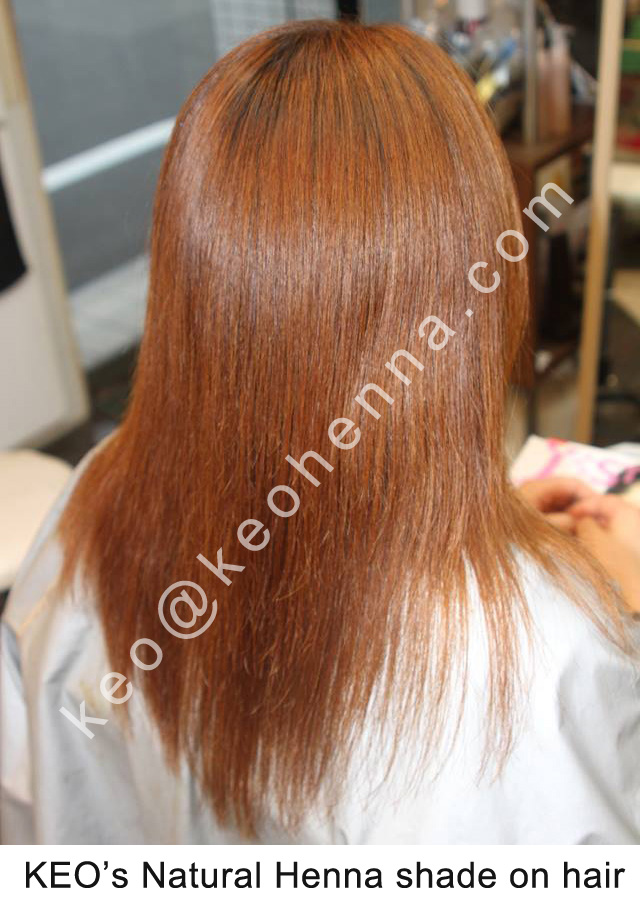 Pure Henna Hair Coloring Treatment