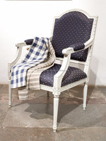 Louis XVI lounge chair