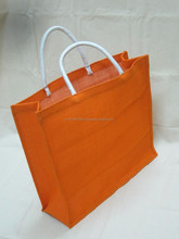 Plain Jute Tote Bags for Shopper in bulk