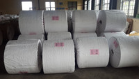 plain white pp woven fabric/cloth/sheet in roll as covering material and producing bags/sacks