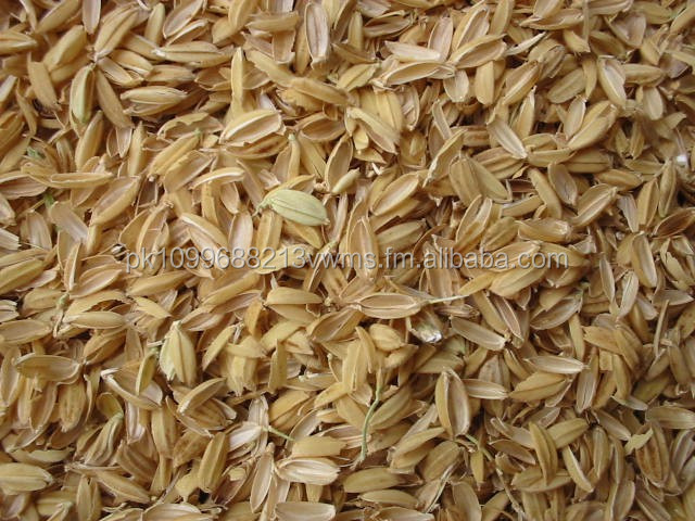 Rice Husk and Dry Fruit Husk