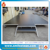 Easily Assembling Crystal Wedding Stage Mobile Adjustable Stage