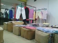 Garments stock lot