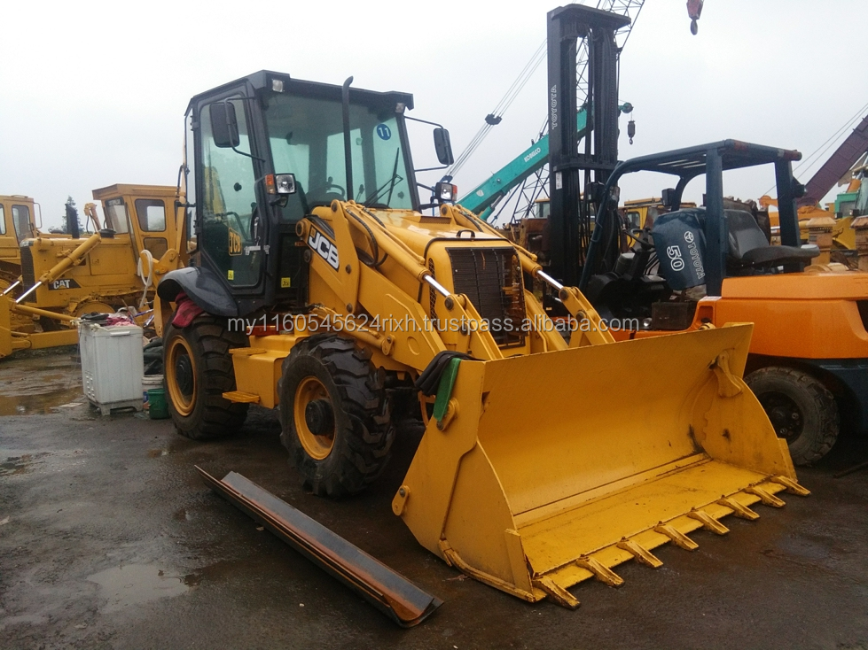 UK JCB 3CX Used Backhoe Loaders second hand JCB 4CX front end lodaer for sale caterpillar 426 416