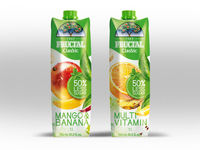 Fruit nectars & soft drinks CLASSIC - with 50% less sugar