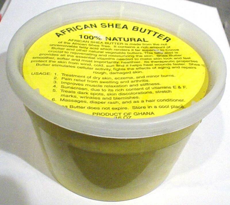 high purity raw shea butter 100% pure natural for skin care with free sample