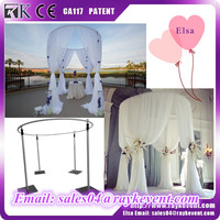 US wholesale canopy weddings pipe and drape event pipe and drape round backdrop frame for sale