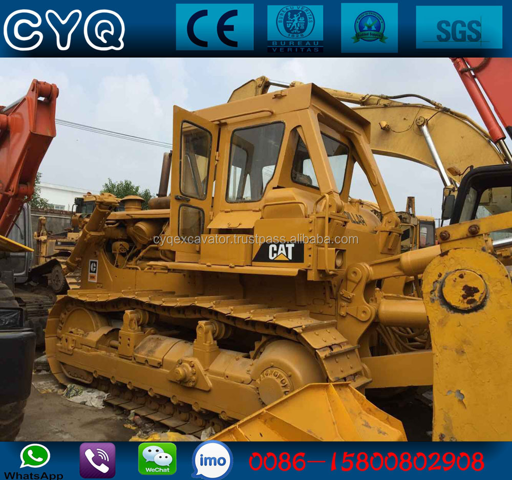Used CAT D8K bulldozer with ripper and blade, used dozer caterpillar D8K for sale (whatsapp:0086-15800802908)