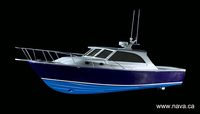 Mold Set for 38' Technologically Advanced Sport Fishing Boat