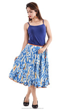 2016 latest indian handmade 100% cotton wholesale long embroidered skirt