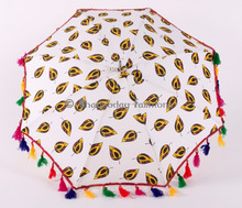 Wholesale lot of 50 Indian Summer Protection Sun Parasol Mandala Umbrella Cotton Beach Umbrella