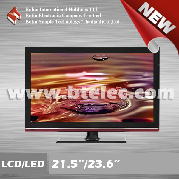 Made in Thailand cheap wholesale 21.5 inch used LCD/LED TV