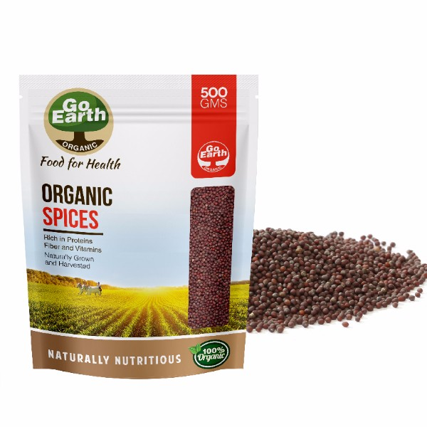 Highest Grade Organic Black Mustard Seeds At Your Door Step