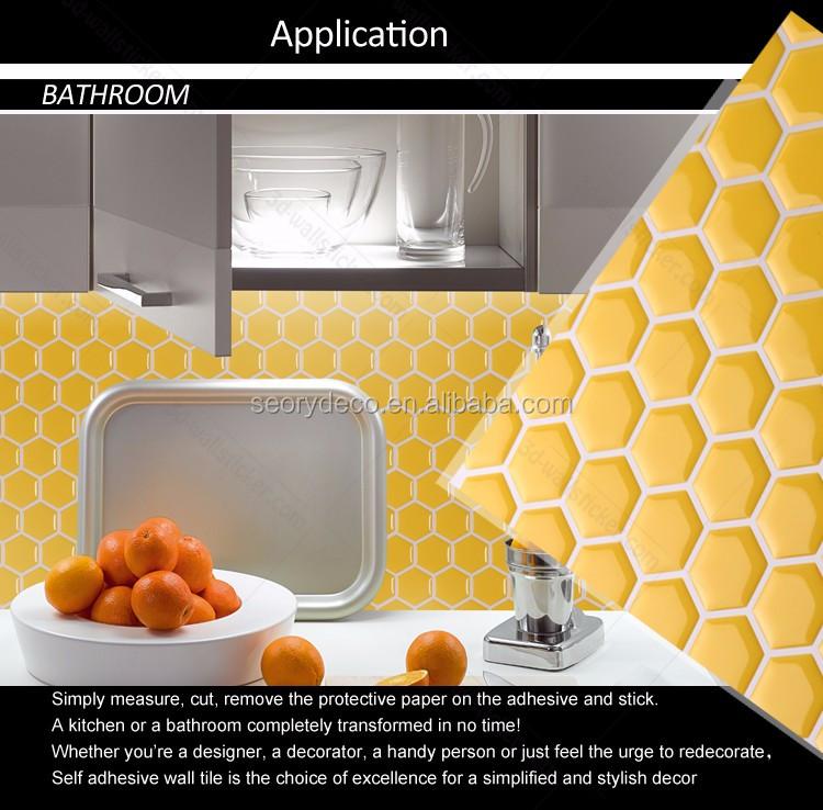 hexagon wall tile