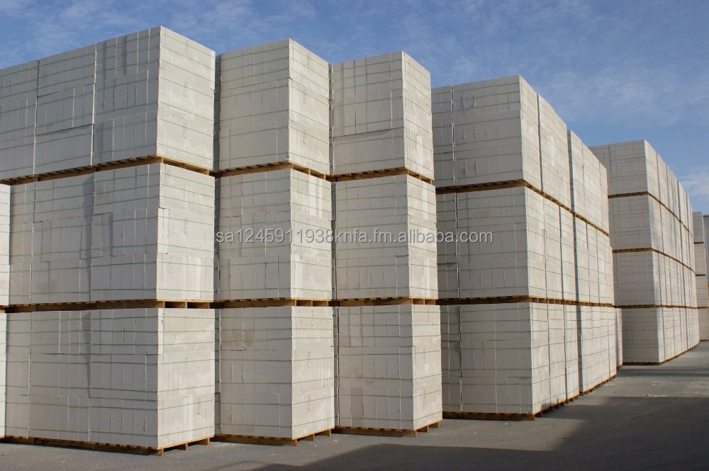 Siporex Precast Cellular Concrete Insulated Products blocks & panels