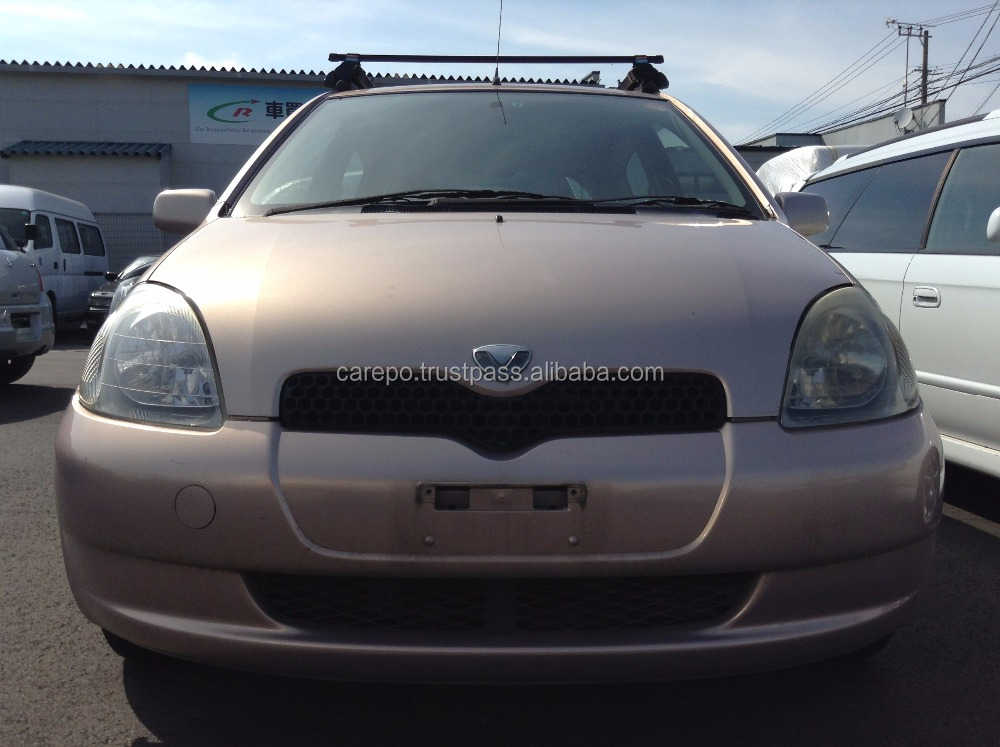 CHEAP USED CAR IN JAPAN FOR TOYOTA VITZ 2000 (ENGINE: 1SZ, MODEL: GH-SCP10, GRADE: F)