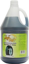 High concentrated self-service car cleaning products Tire Black _ Shine 3000 ml.