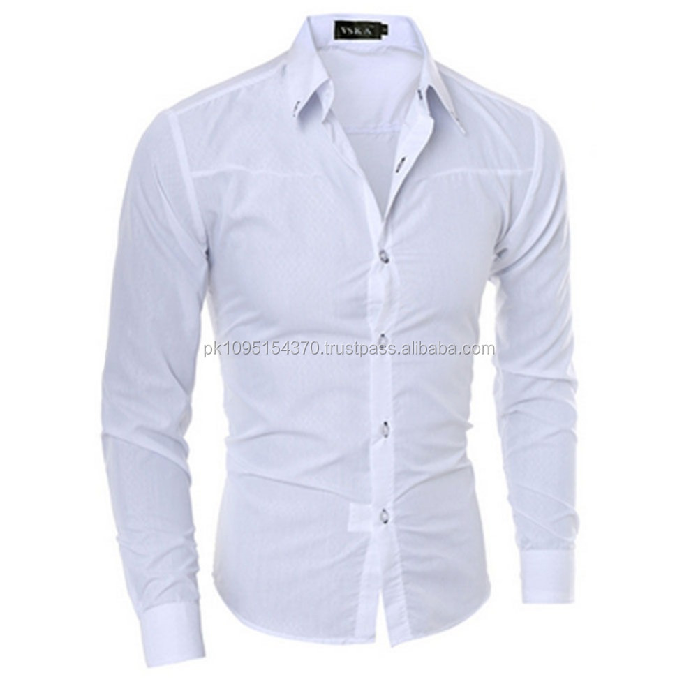 Latest Shirt Designs For Men 2017 Of Latest Style Men's Formal white Dress Shirt