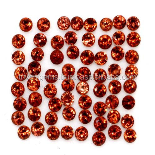 AAA Quality Sparkling Red Garnet Round Cut 2 mm Superb Quality 4.50 cts