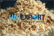 Wood shavings for poultry bedding