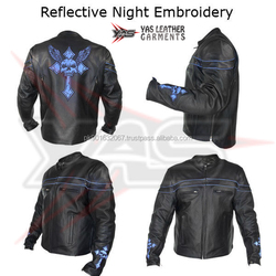 Men Motorcycle Leather Jackets> Mens Cross Skull Black Leather Armored Motorcycle Jacket > Vintage Leather Jacket Motorcycle
